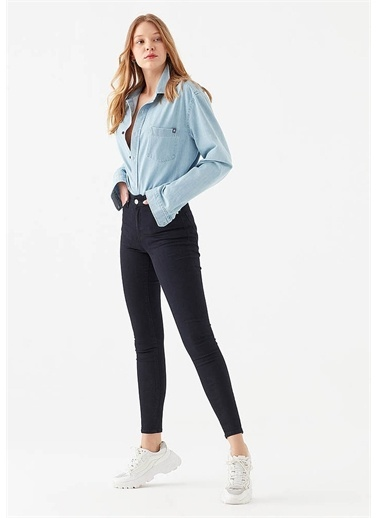 Mavi Tess Gold Lux Jean Pantolon Mavi